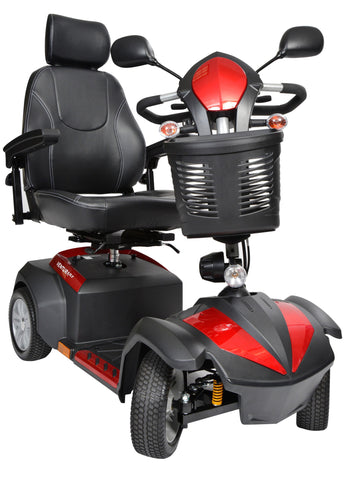 "Ventura 4 DLX 18"" Captain's Seat 4-Wheel Deluxe Power Mobility Scooter"