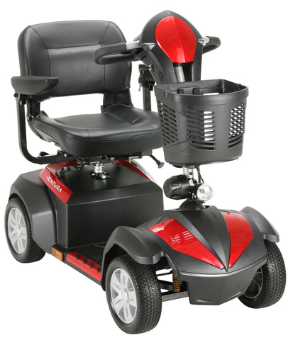 "Ventura 4 18"" Folding Seat 4-Wheel Power Mobility Scooter"