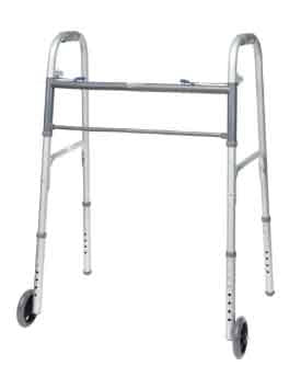 "ProBasics Bariatric 2-Button Walker with 5"" wheels"