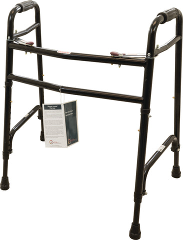 Heavy Duty Folding Walker Without Wheels