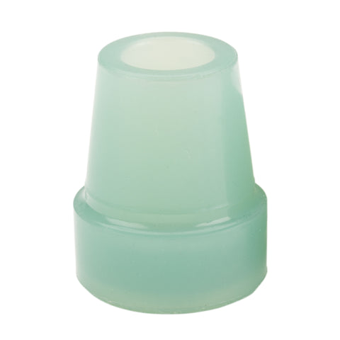 "Glow In The Dark Cane Tip, 3/4"", Blue, Each"