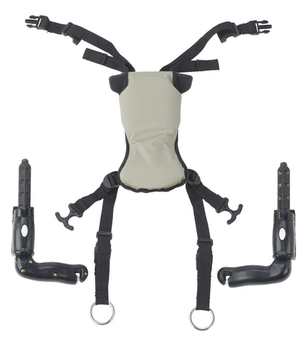 Trekker Gait Trainer Hip Positioner and Pad, Large