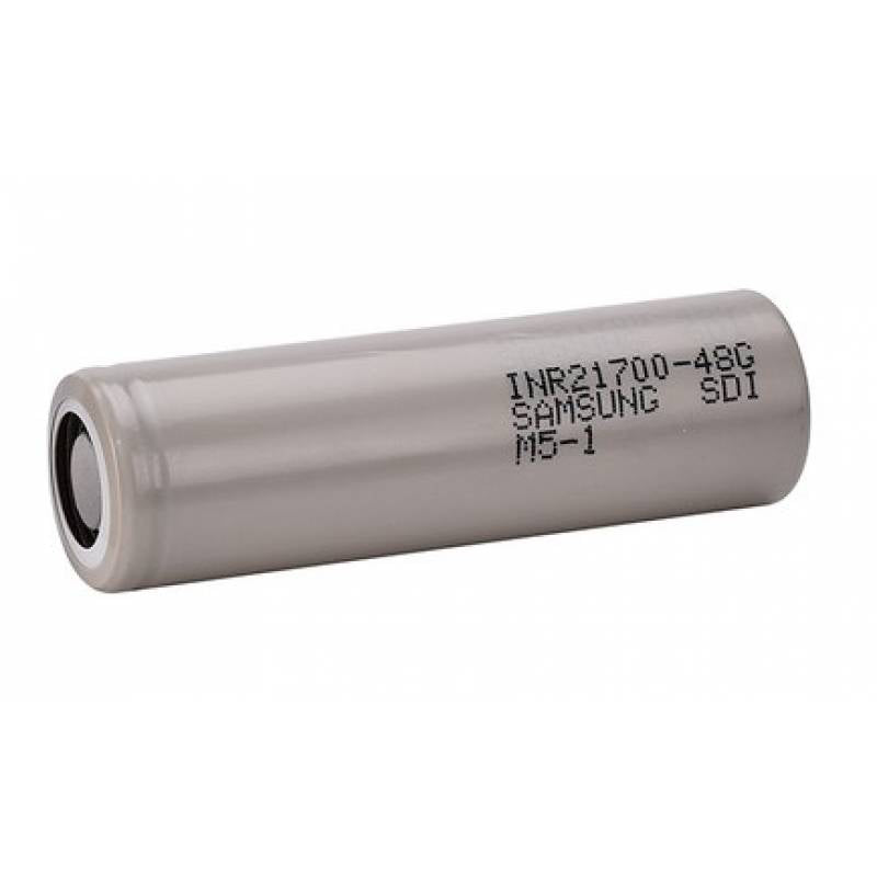 Samsung 4800mAh INR21700-48G High Drain High Discharge Flat Top