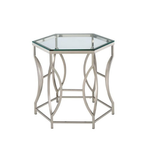 Hexagonal End Table