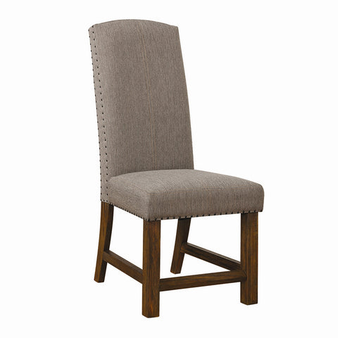 Bourbon Upholstered Dining Chairs, Grey