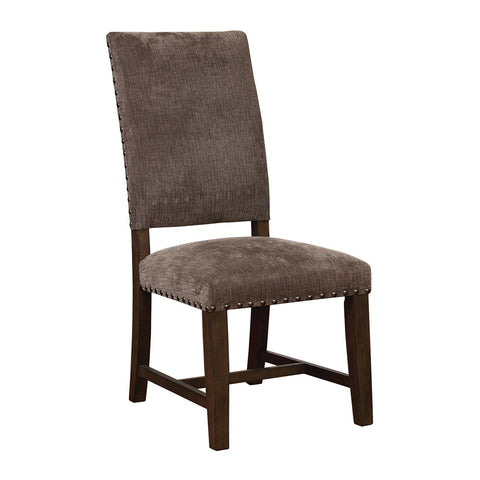 Contemporary upholstered Chair, Grey