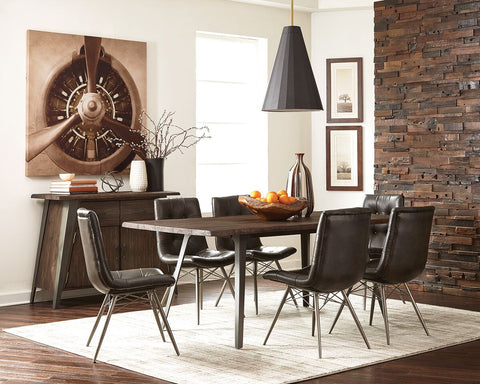 Fremeont Industrial Design Dining Set
