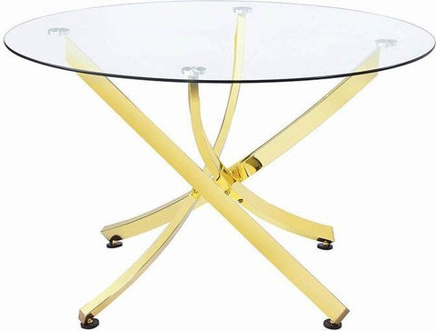 Chanel Brass Dining Table