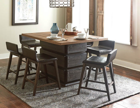 Two Tone Counter Height Dining Set