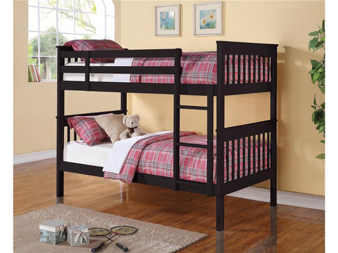 Chapman Black Twin/Twin Bunk Bed