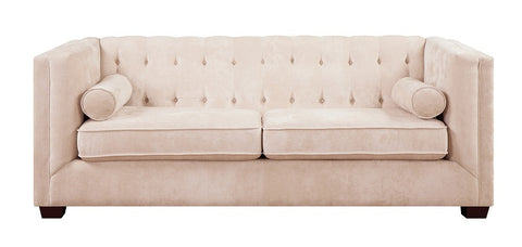 Alexis Almond Color Transitional Sofa