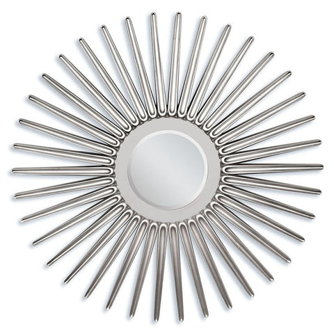Silver Finish Accent Mirror