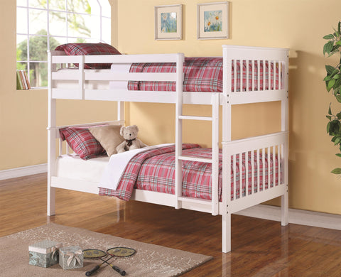 Chapman White Twin/Twin Bunk Bed
