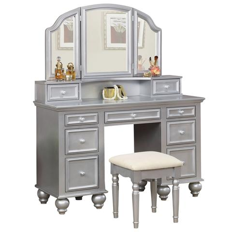 Athy Vanity Table with Bench Set (Choose Color)  sc 1 st  Interior Gallerie & Athy Vanity Table with Bench Set (Choose Color) u2013 Interior Gallerie