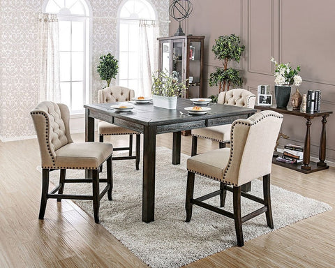 Sania III Counter Height Dining Set
