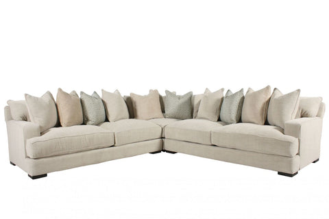 Drew Plush Sectional