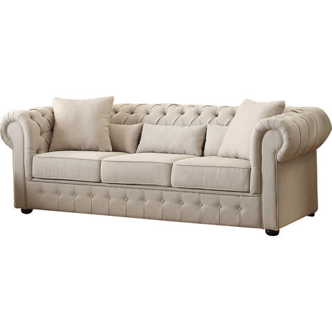 Chester Button Tufted Sofa