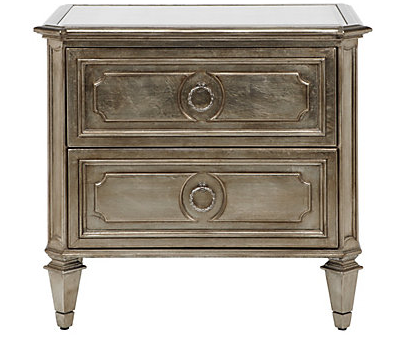 Bronze Champagne Night Stand