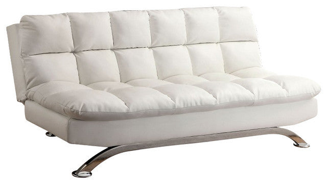 white futon sofa bed. ARISTO WHITE LEATHERETTE FUTON SOFA BED White Futon Sofa Bed