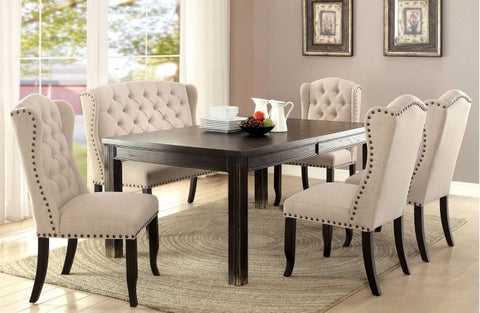 Antique Black Dining Table Collection