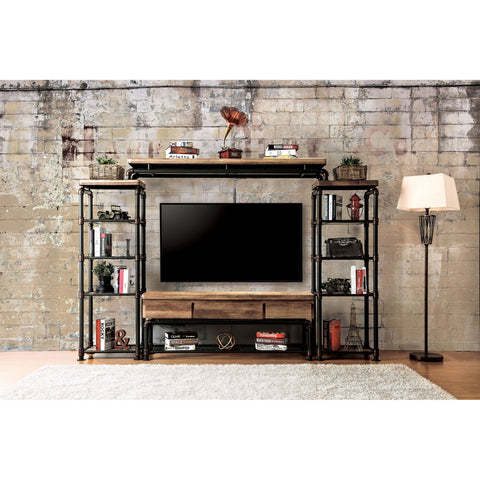 Industrial Style Entertainment Center