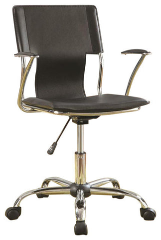 Task Office Chair with Adjustable Height, Black