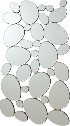Rounded Shapes Accent Mirror