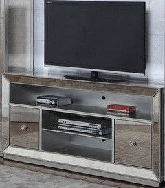 Antique Mirrored Tv Stand