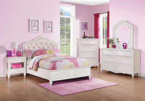 Caroline White Bed Frame