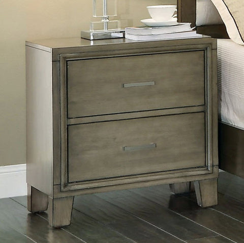 Enrico Nightstand, Weathered Gray