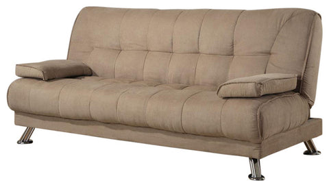 Jordan Tan Brown Futon Sofa Bed