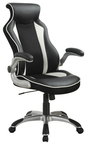 Race Car Seat Design Office Chair, Black