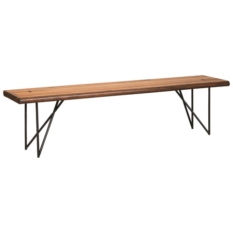 Contemporary Modern Dining Bench