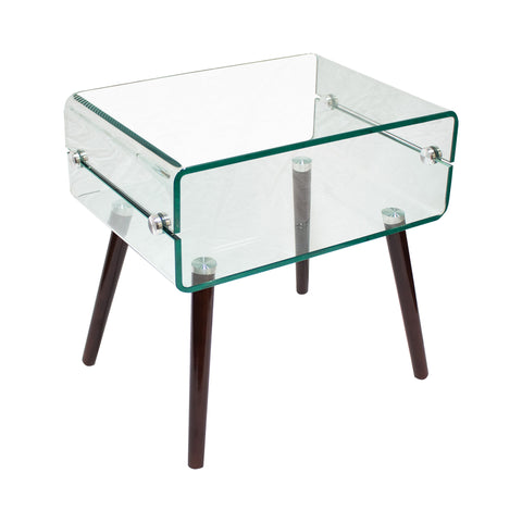 Brady Contemporary Mid Century End Table