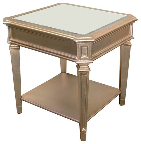 Bronze Champagne End Table