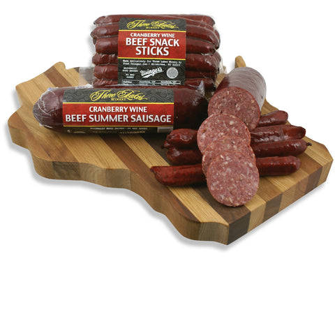 Cranberry Wine Sausage