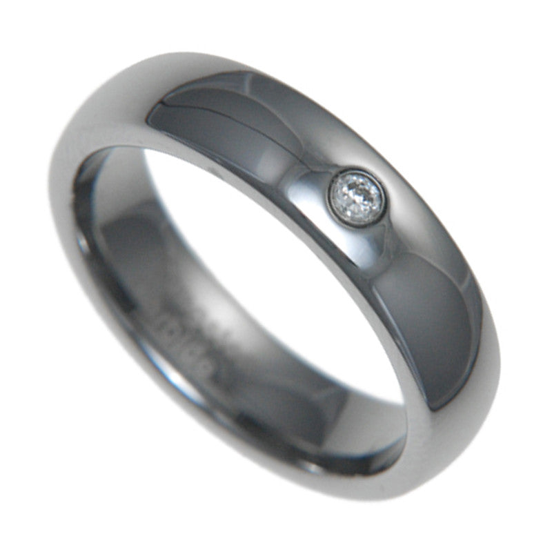 8mm Tungsten Carbide Wedding Band CZ Bridal Men Women Ring 7-14