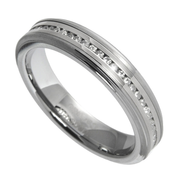 2 Carat Tungsten Carbide ETERNITY Ring Bridal Wedding Band Size 7-12