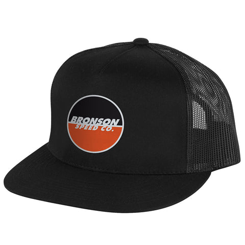 Bronson Logo Mesh Trucker Snapback Mens Bronson Speed Co. Hat