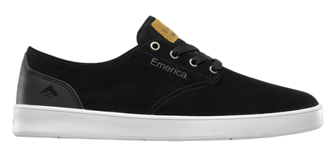 Emerica The Romero Laced Black/ Black/ White