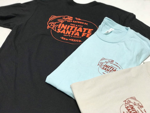 Initiate Skate and Tackle T-Shirts