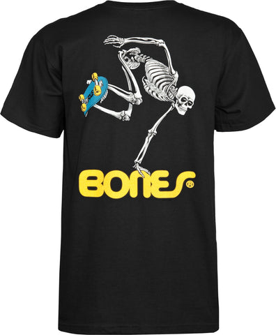 Powell Peralta Skate Skeleton T-shirt - Black