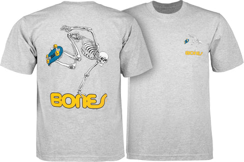 Powell Peralta Skateboard Skeleton Youth T Grey