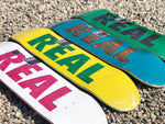 Real Skateboards Bold Decks
