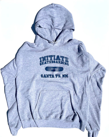 "Initiate ""Since 13"" Pullover Hood Heather Grey"
