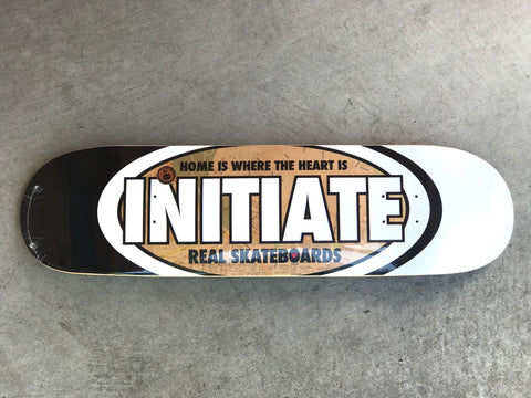 Real Skateboards x Initiate Home Is Where The Heart Is Deck