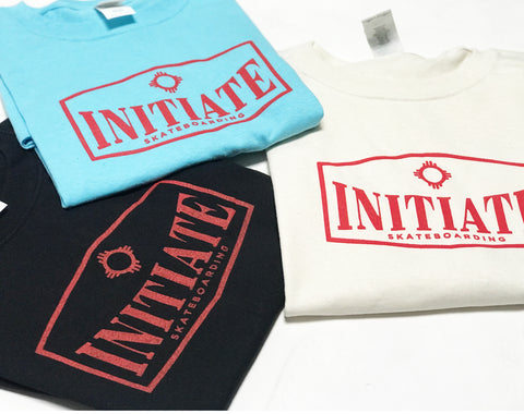 "Initiate Skateboarding ""Chimi Logo"" one hit T's Shirt"