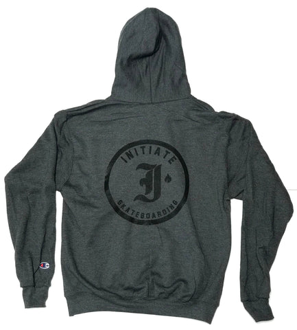 "Initiate ""Jumble"" Pullover Hooded Sweatshirt Charcoal Heather"