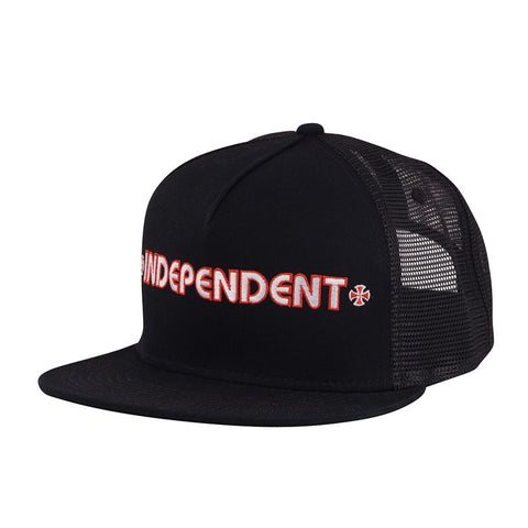 Independent Bar Mesh Trucker High Profile Mens Hat