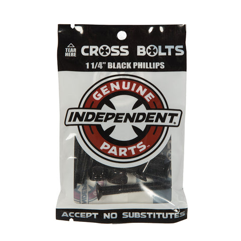 Independent Genuine Parts Phillips Hardware Black Pk/8 Independent